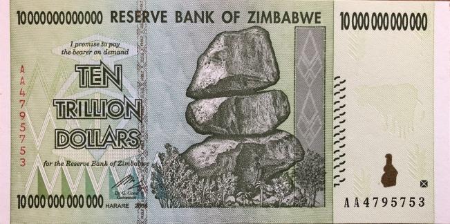 Zimbabwe Bucks